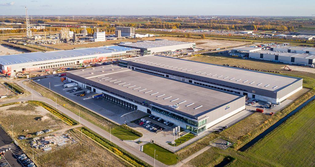 dhg arena warehousing smartlog moerdijk