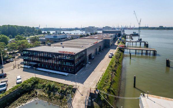 DHG VERWERFT BEDRIJFSCOMPLEX VAN WARTSILA EN VERHUURT AAN HARDING SAFETY NETHERLANDS