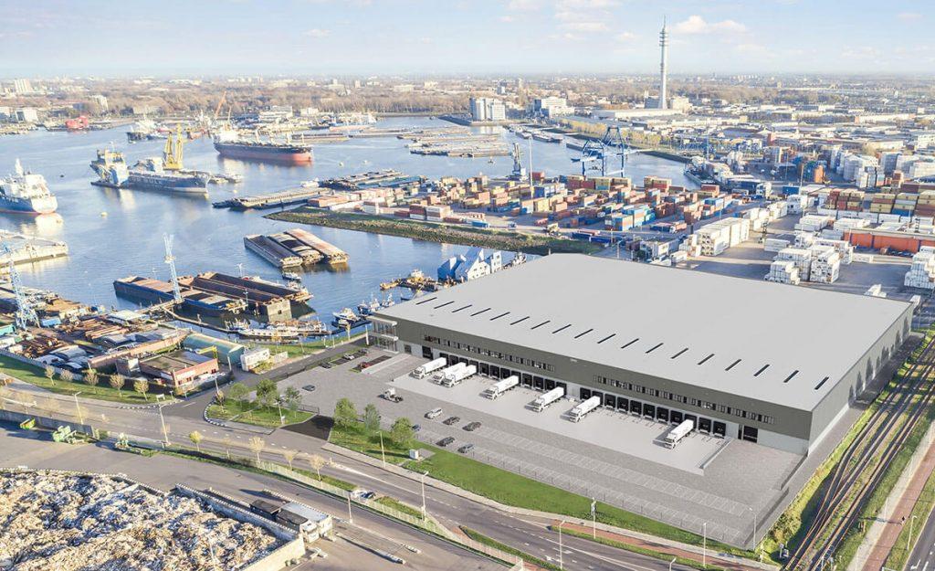 smartlog rotterdam 5 waalhaven bouw