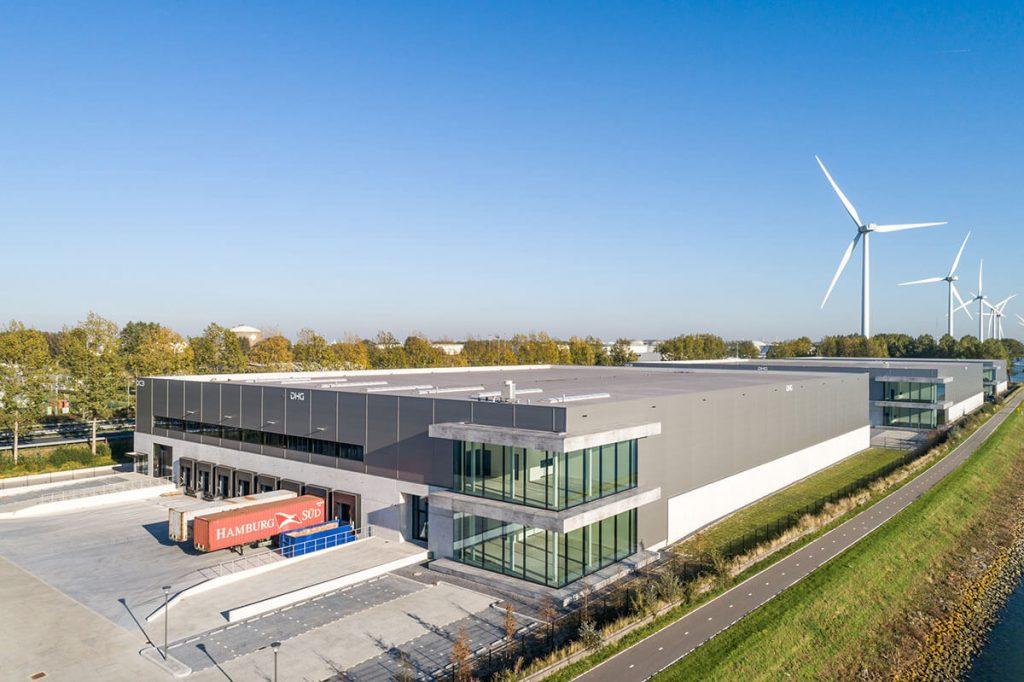 DHG PATRIZIA Smartlog Rotterdam 1 HELLMANN