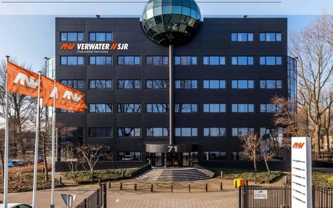 DHG VERHUURT 3500 M2 KANTOORRUIMTE AAN DROOGDOKWEG IN ROTTERDAM AAN VERWATER SJR
